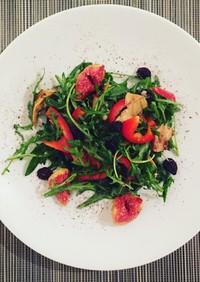 【ギリシャ】バルサミコのいちじくサラダ