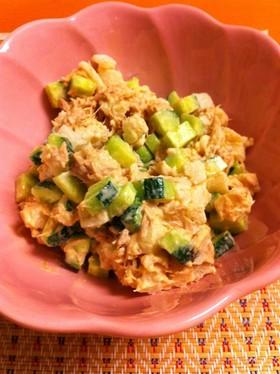 ポテトより美味しい!長芋ツナマヨサラダ