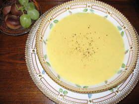 牛乳なしの栗ポタージュスープ