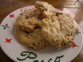 朝食にもOK?!甘さ控えめチョコクッキー