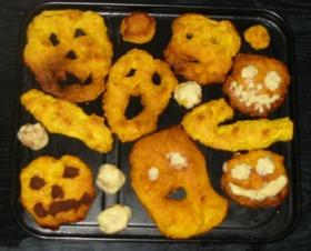 ハロウィン パンプキンゴーストクッキー♪