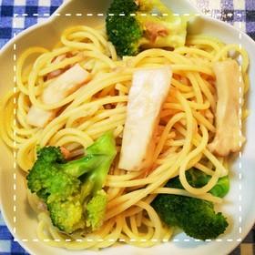 麺別ゆで不要!ブロッコリーのツナパスタ