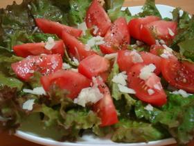 とっても美味しい♡トマトサラダ