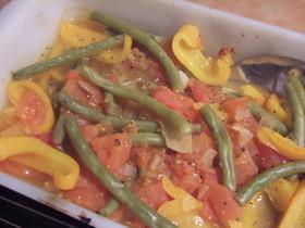 ギリシア風野菜のオーブン煮込み
