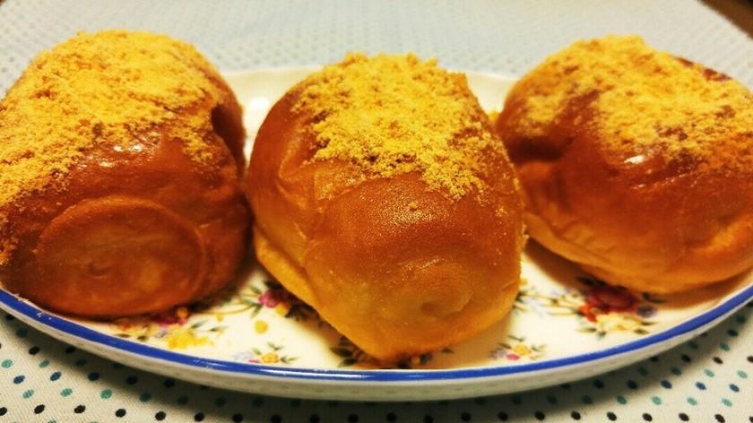 ロールパンで❤懐かしい給食の揚げパン