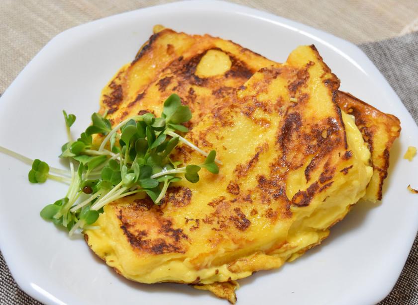 濃厚★バニラアイスで作るフレンチトースト