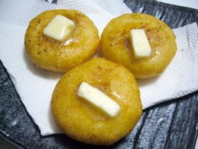 手作りポテト餅