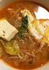 簡単★キムチチゲ風豚汁(ズンドゥブ風)