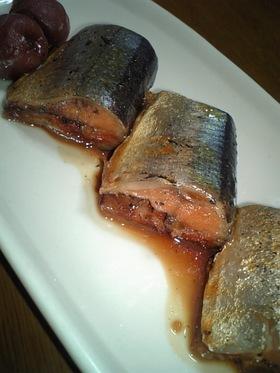 秋刀魚のさっぱり梅酢煮
