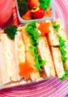ホットケーキサンドイッチ★ハムチーズ