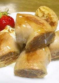 ベーグルのフレンチトースト