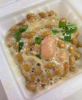 私が好きな納豆の食べ方☆