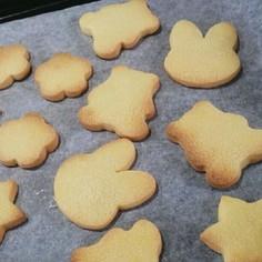 簡単型ぬきクッキー
