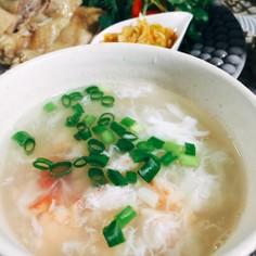 包丁要らず蟹スープ