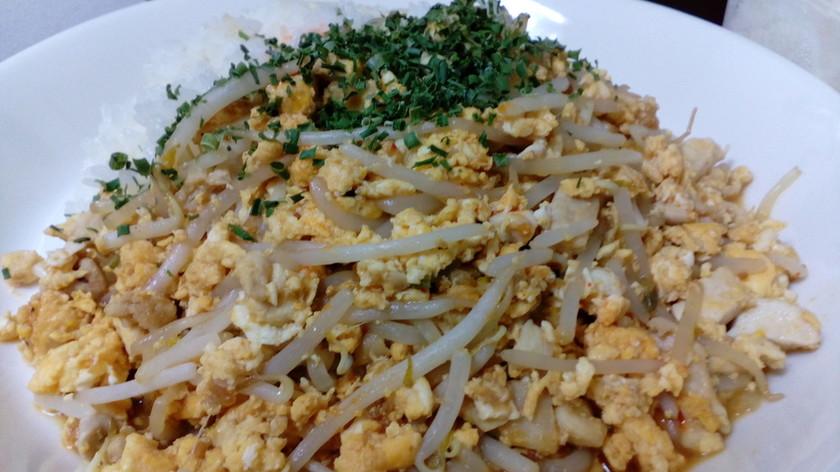 【筋肉トレ飯】マイちゃんと鶏ムネモモ炒め