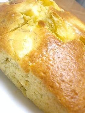 バナナ&リンゴで感動!うまケーキ