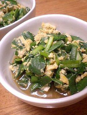 ニラと卵の簡単【煮】