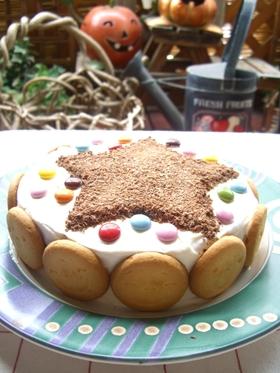 クッキーでデコケーキ♪