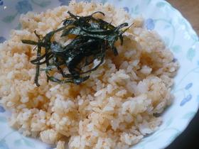 大葉にんにく醤油で❀明太マヨチャーハンฺ
