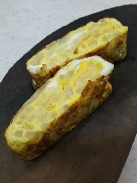 サクッとホコッと長芋の卵焼き