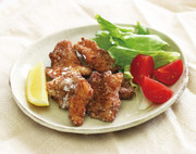 鶏むね肉の竜田揚げ ゆずこしょうソースの写真