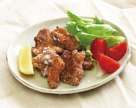 鶏むね肉の竜田揚げ ゆずこしょうソース
