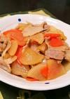 豚バラ大根の炒め煮☆