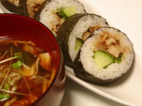 こってり香ばしい甘辛クルミ寿司