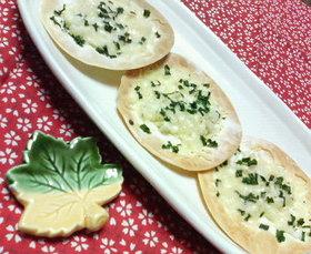 餃子の皮で♡オニオンチーズの♥簡単ピザ♡