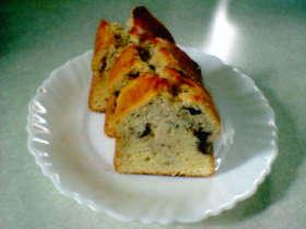 ブルーベリーのヨーグルトパウンドケーキ