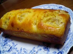 完熟バナナのケーキ