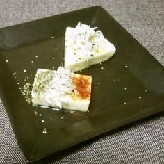 【超速】チーズとしらすのアンティパスト