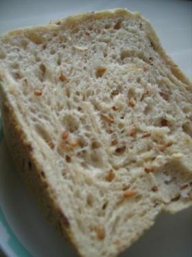 健康的なライ麦食パン