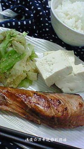 シンプルがイチバン☆鮭のしょうゆ漬け焼き