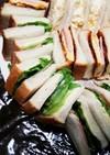 ☆簡単サンドイッチ♪ハムチーズたまご編☆