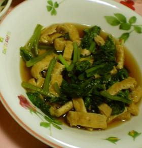 お母さんの小松菜とあげの煮びたし♡