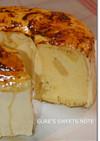 りんごとシブーストのシフォンケーキ
