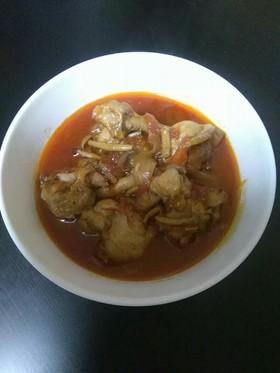 若鶏チューリップのトマト煮込み
