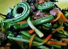 山菜、冷凍コゴミのサラダ風