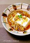 麺つゆで簡単!なめこおろし豆腐