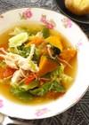 野菜と胸肉コンソメ煮込み  ダイエット