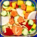 ハニージンジャービネガー♬お好み野菜で