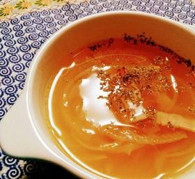 ☆5分で完成☆オニオンコンソメスープ