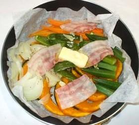 ダイエットに!野菜の蒸し焼き♪簡単