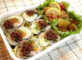 韓国風海苔巻きのお弁当