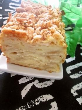 チーズケーキ風りんごのガトーインビジブル