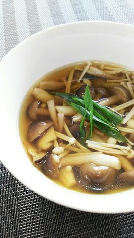 コンソメで☆簡単☆きのこのスープ☆