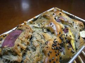 簡単ノンオイル!セサミポテトケーキ