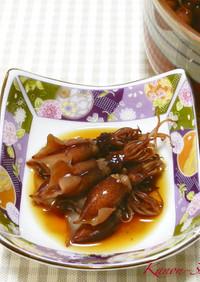 ホタルイカの漬け☆優しい味の漬け汁です