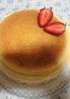 糖質オフのココナッツスフレチーズケーキ